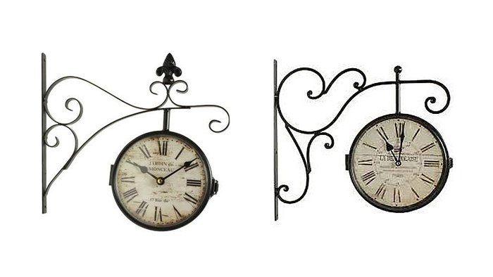 le m me en moins cher une horloge qui en jette d co. Black Bedroom Furniture Sets. Home Design Ideas