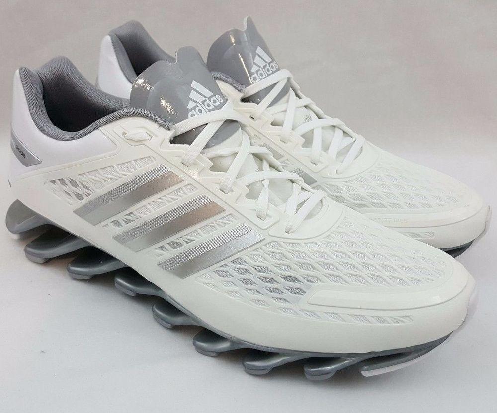 6838bc4167c8 Adidas Springblade Razor Men s Running White Silver Shoes G97685 Size 12   Adidas  Springblade