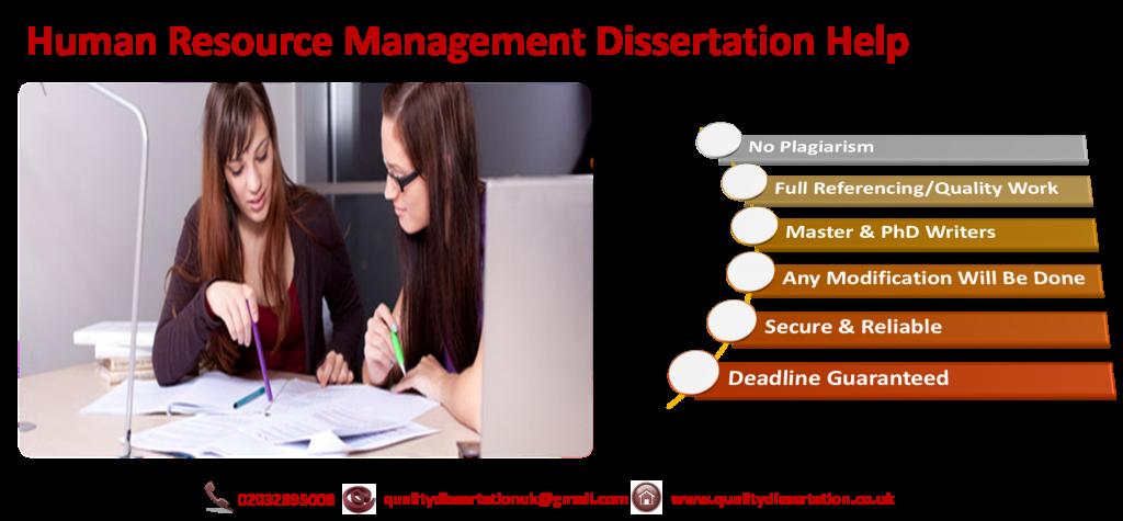 Dissertation in hr