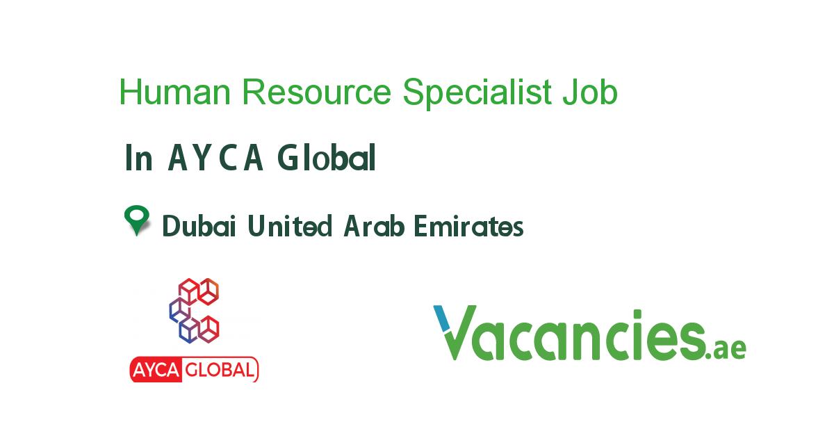 Human Resource Specialist Executive Jobs Assistant Jobs Job