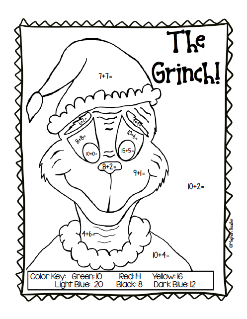The Creative Colorful Classroom: Grinch Day Plans
