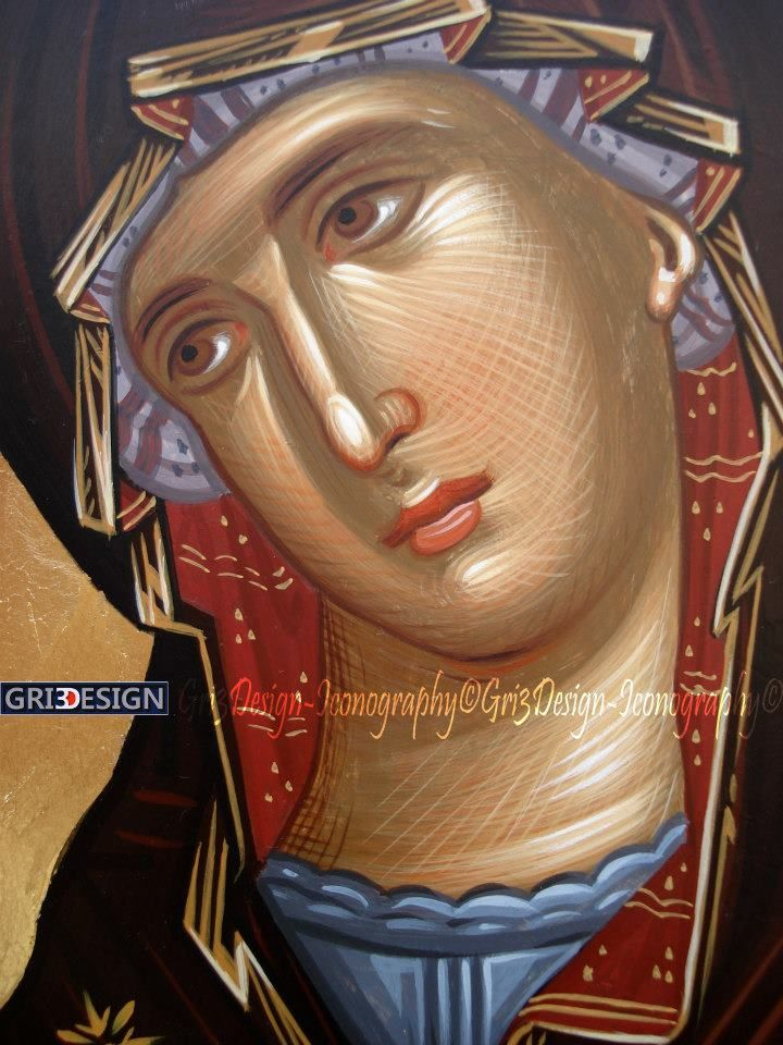 Holy Mary.Mother of God.(Icon)