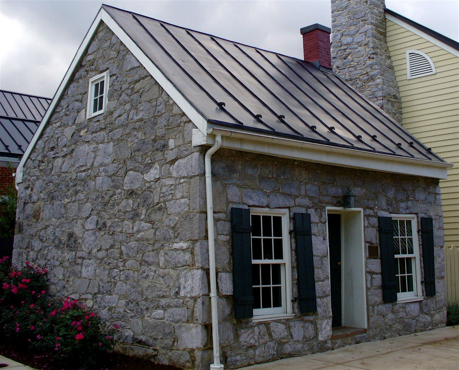 Stone Outbuilding In Winchester Va Stone Homes And