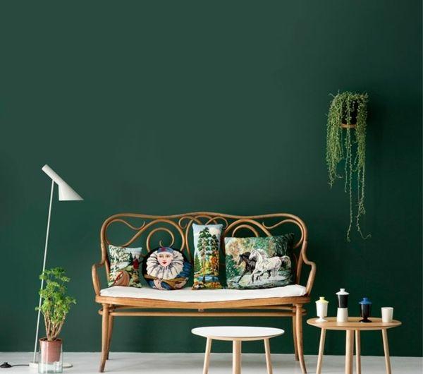Grüntöne Wandfarbe | Welches Grün Als Wandfarbe? - 35 ...