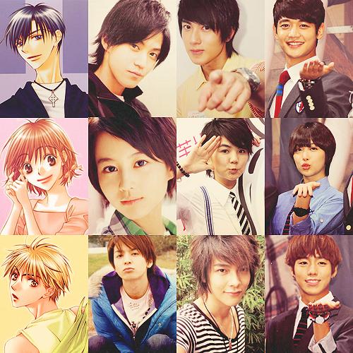 hana kimi (to the beautiful you) manga (original), and