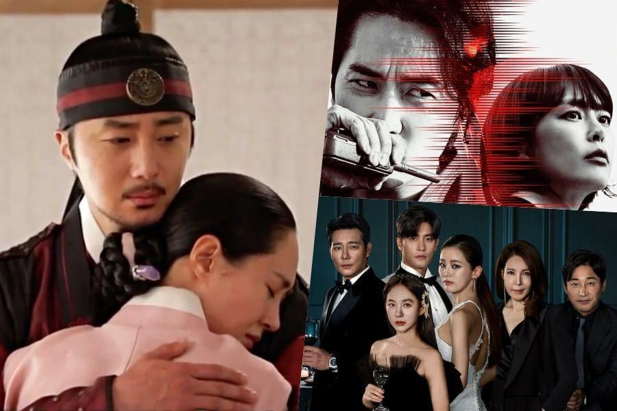 """""""Bossam: Steal The Fate"""" Breaks Own MBN Ratings Record As """"Voice 4"""" & """"Love (Ft. Marriage And Divorce) 2"""" Hit New All-Time Highs"""