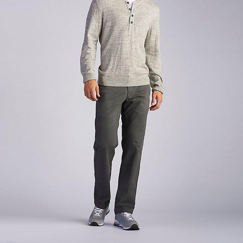Lee Men S Extreme Comfort Khaki Pants Big Tall Size 46 X 29