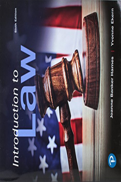 Introduction To Law By Joanne Hames Pearson Ebook Pdf Ebook Books