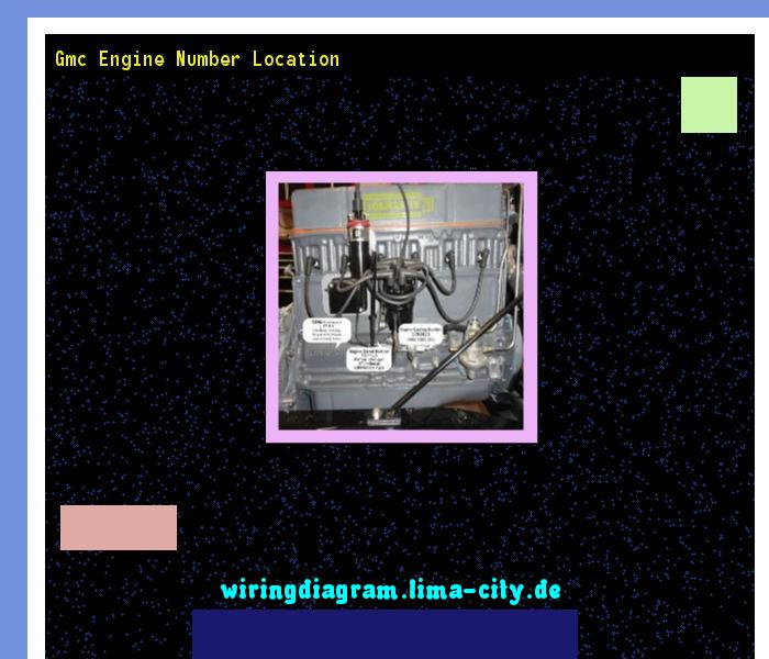 Gmc Engine Number Location Wiring Diagram 18575 Amazing Wiring Diagram Collection S Izobrazheniyami