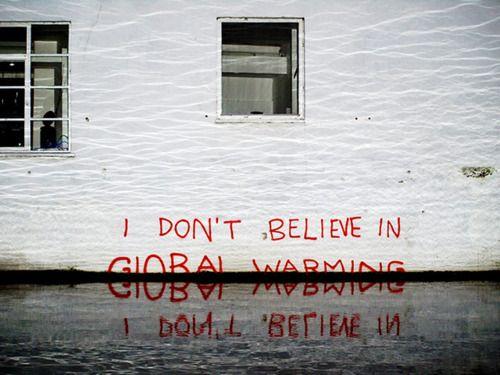 Banksy - Global warming