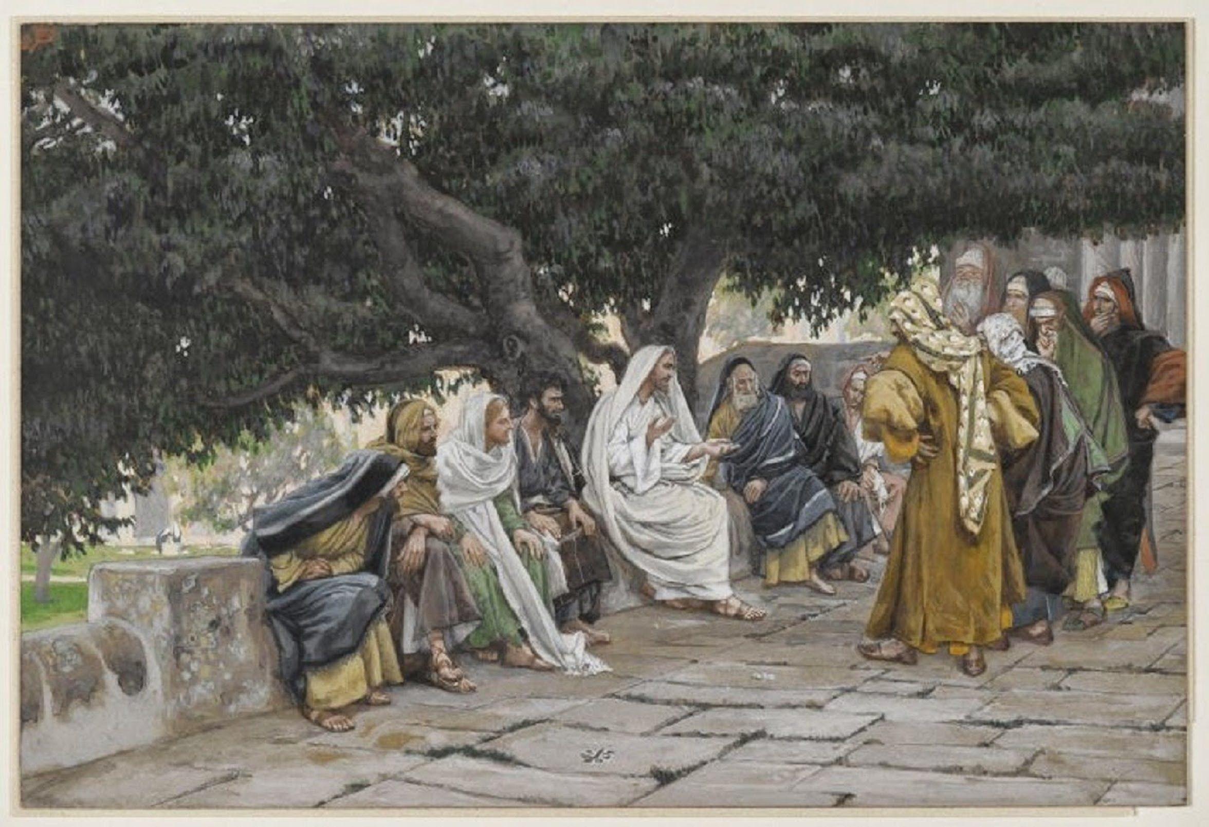 Resultado de imagen para En aquel tiempo, algunos de los escribas y fariseos dijeron a Jesús: