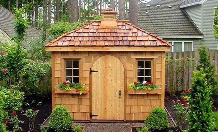 petite cabane ou cabanon et abris jardin bois pas cher | Abris de ...
