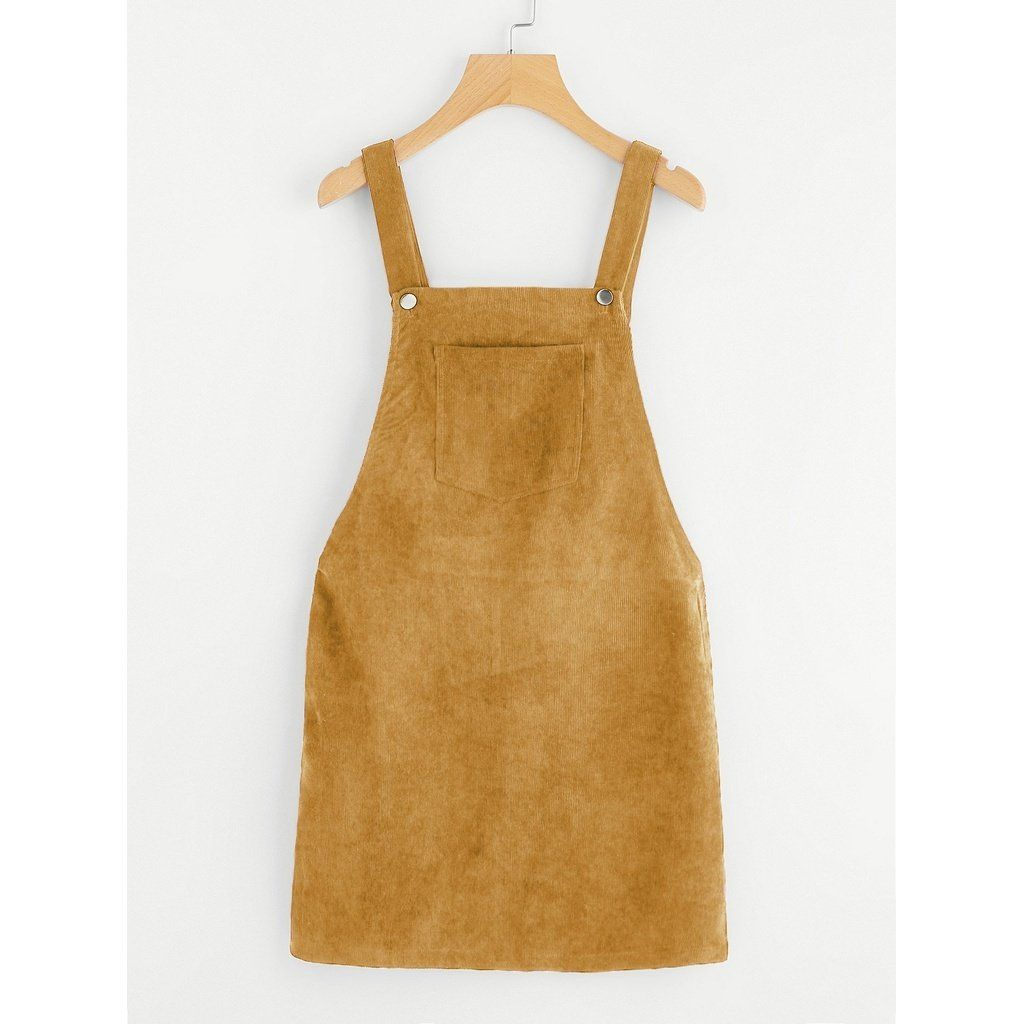 Bib pocket front overall dress ginger in anabellaus dresses