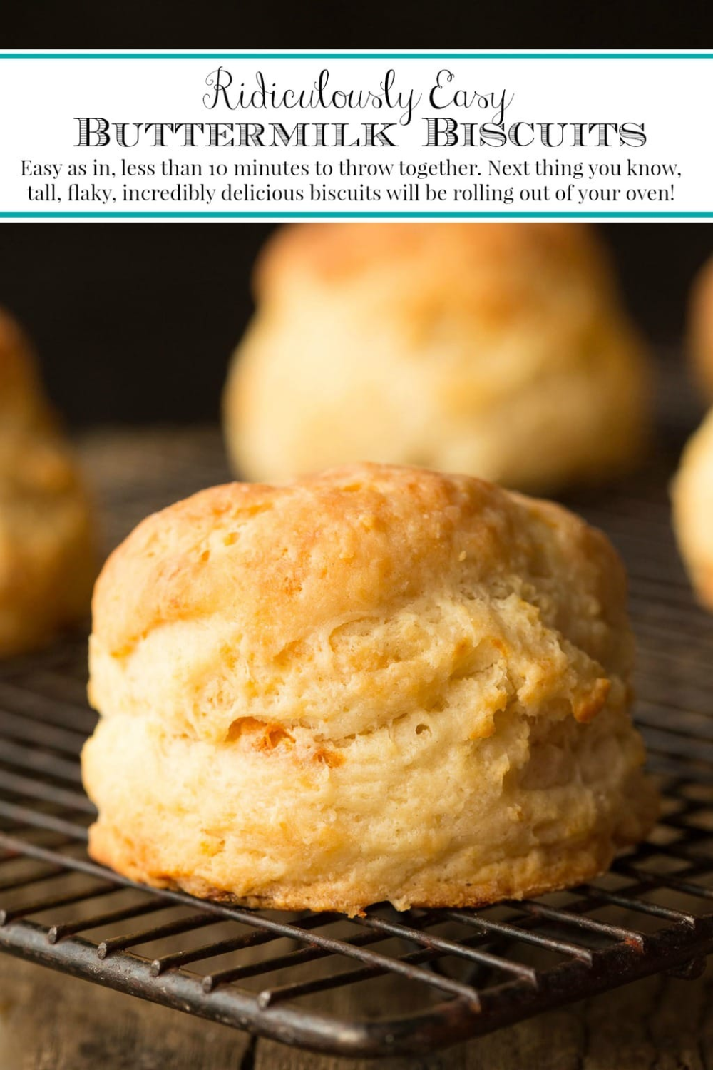 Ridiculously Easy Buttermilk Biscuits Recipe In 2020 Buttermilk Biscuits Easy Biscuit Recipe Biscuits Easy