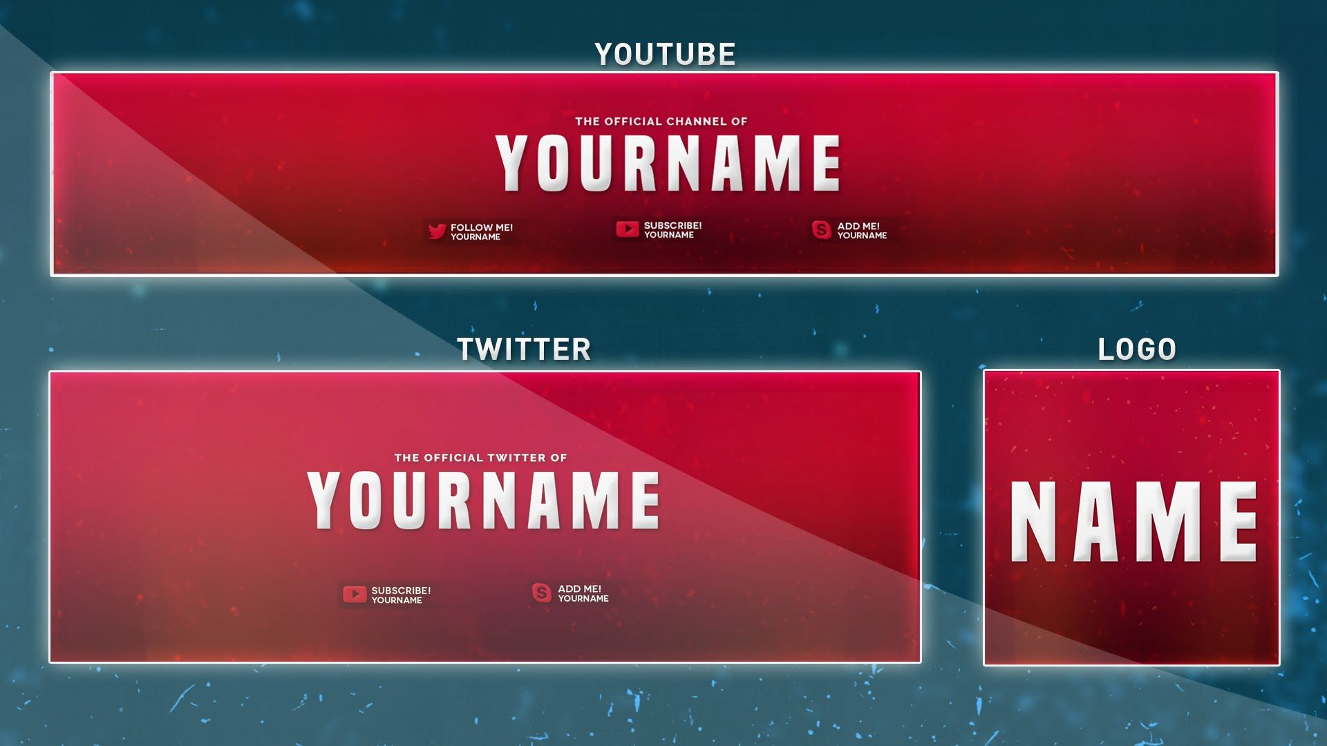 Banners Page 6 Templates Intended For Youtube Banner Template Gimp Best Sample Template Youtube Banner Template Banner Template Youtube Banners
