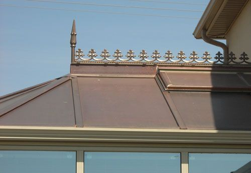 Copper Roof Crest Google Search Copper Roof House Exterior Porch Roof