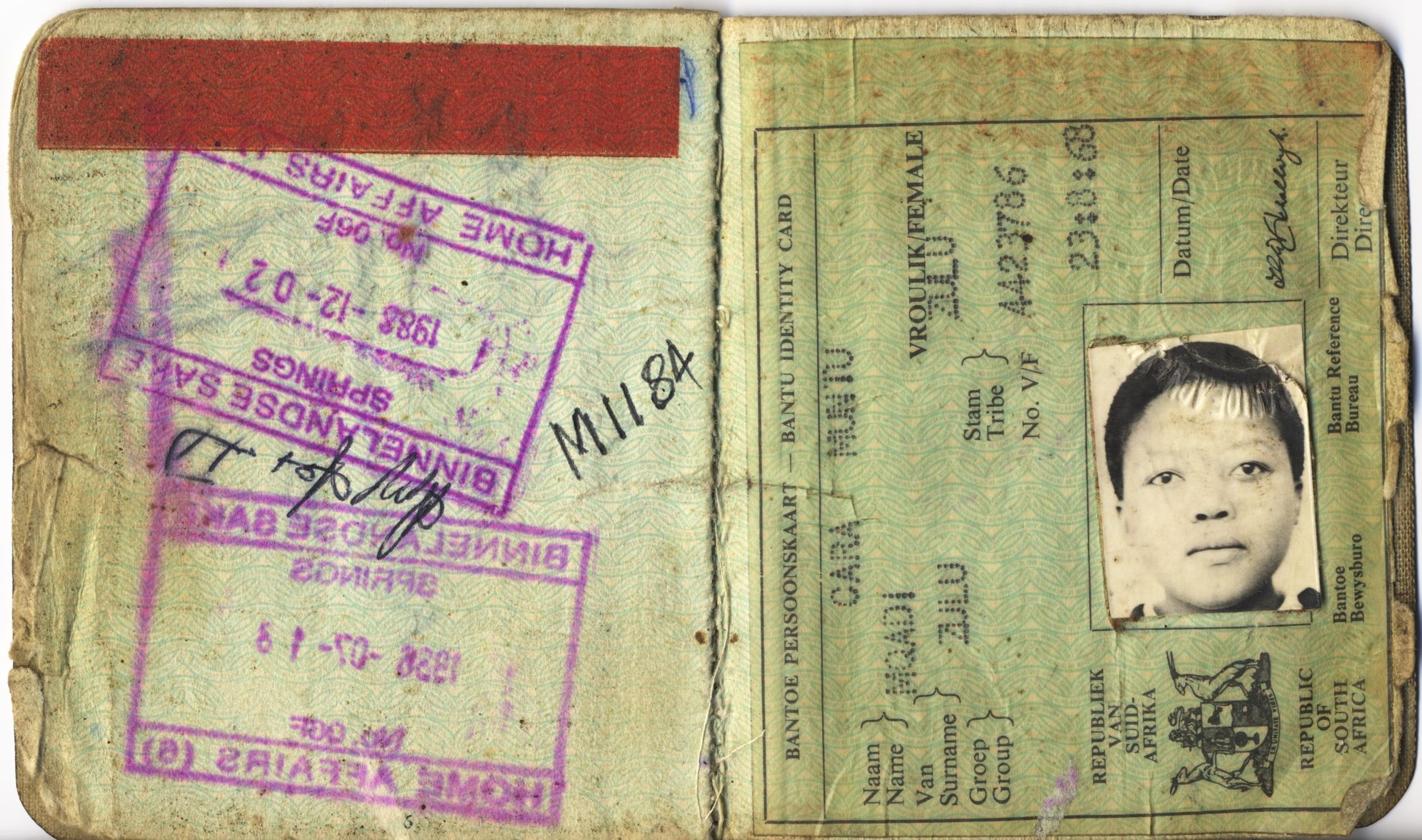 south african apartheid pass book Google Search South