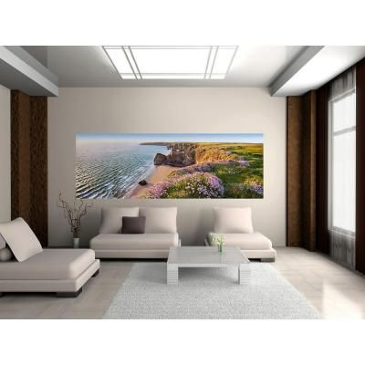 50 in x 025 in Nordic Coast Wall Mural Multicolor Wall murals
