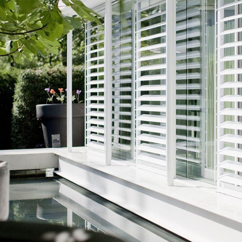 Livium shutters zijn speciaal voor buiten. Hét stijlvolle ...
