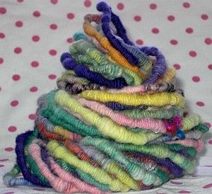How to spin coiled yarn. Knitty: Summer 2006