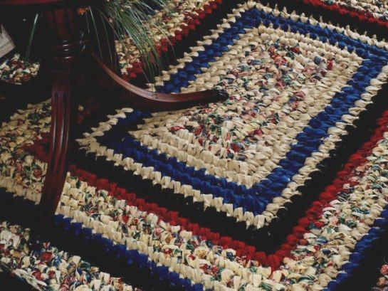 Crocheted Rag Rugs Handmade Custom Designed Crochet Weaving