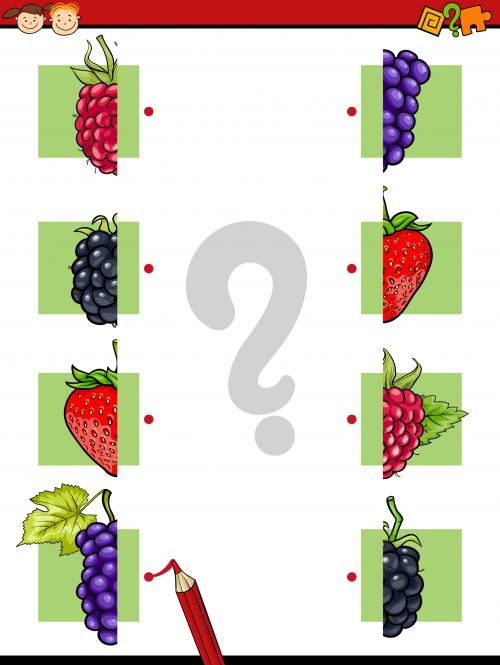 Brain Games Fruit Match Brain