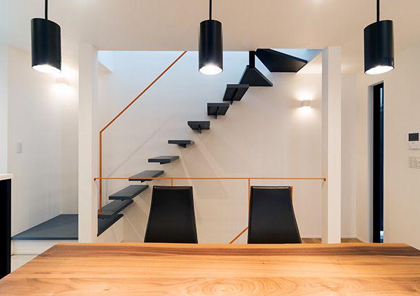 家の間取りに階段は大きな影響を与える 階段の種類別メリットと