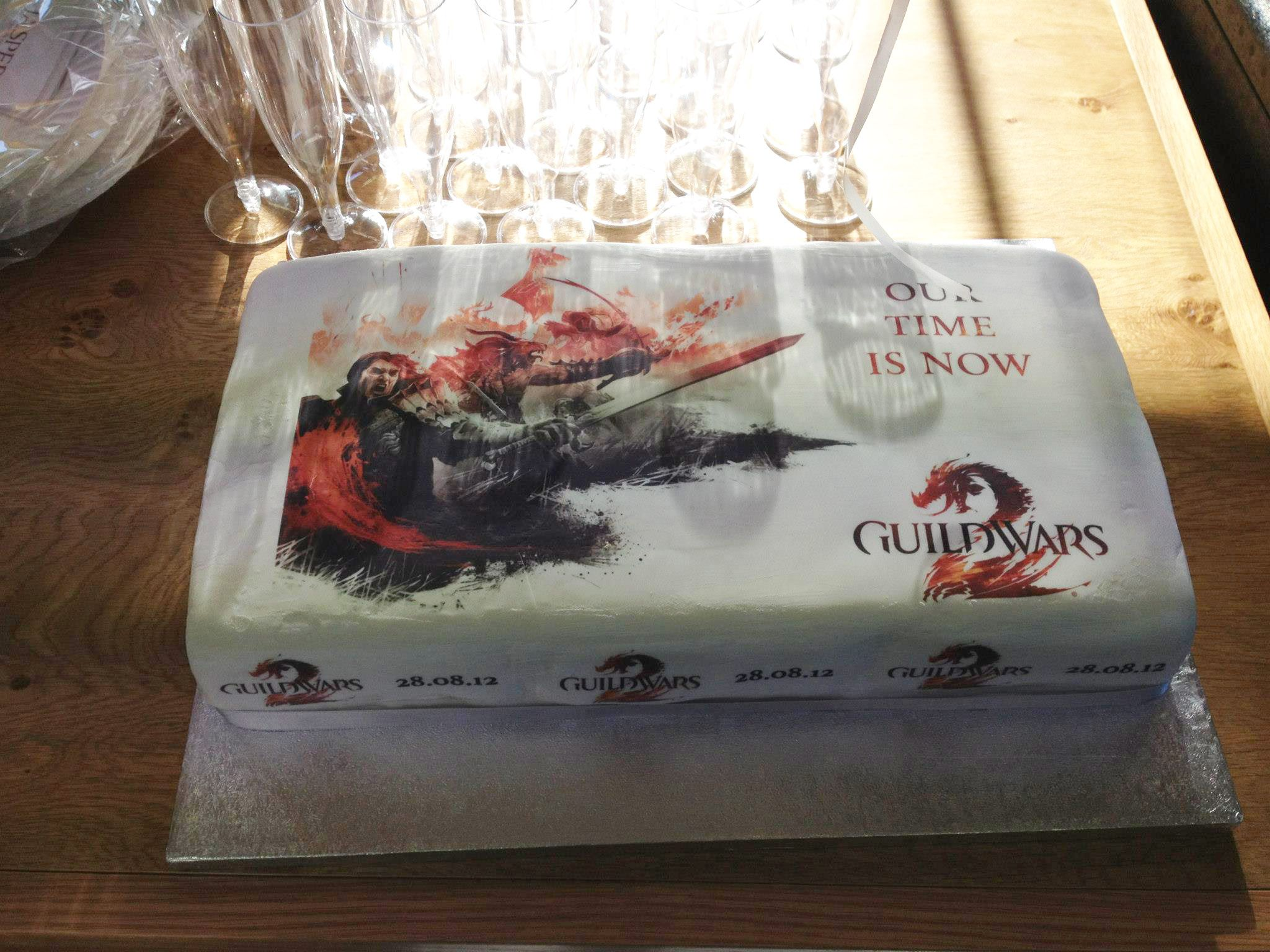 Guild Wars 2 Cake