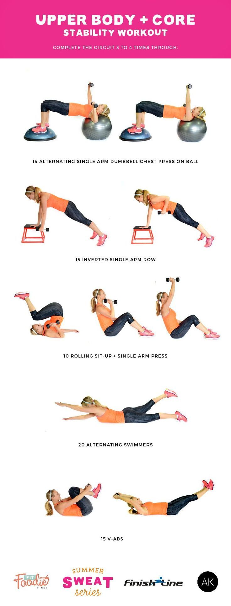 Do this stability workout that combines upper body