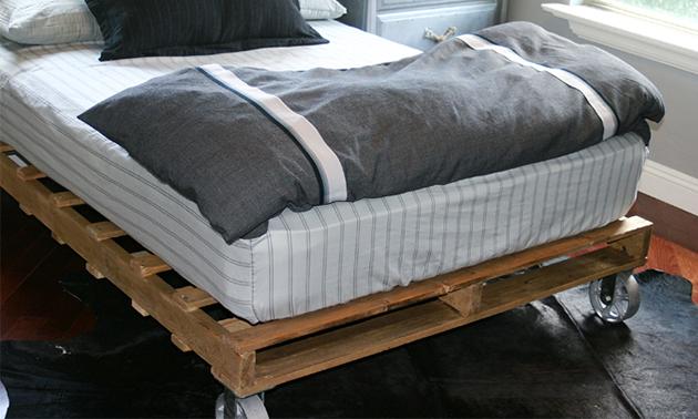 Faça você mesmo: Você já imaginou fazer uma cama de pallet?