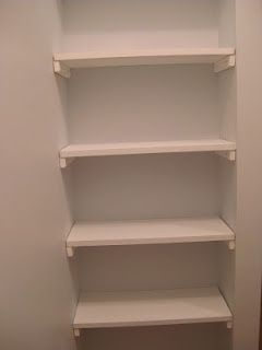 Superior DIY Closet Shelves Idea  Brilliant For A Small Nook! | FollowPics