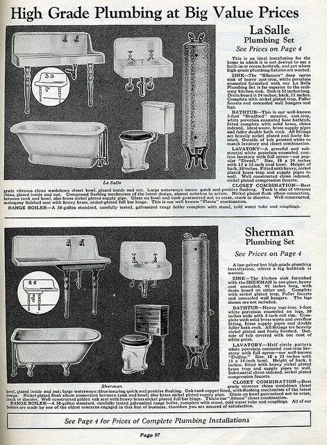 Photo of Sanitaryware from the twenties