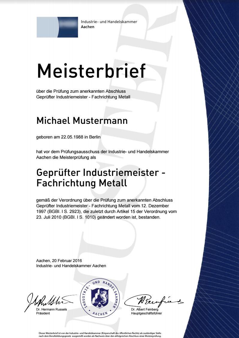 Ihk Meisterbrief Kaufen Masters Lehrbrief Meistertitel Meisterdiplom Meisterurkunde Urkunde Abitur Bachelor Master Meisterbrief Gesellenbrief Zeugnis