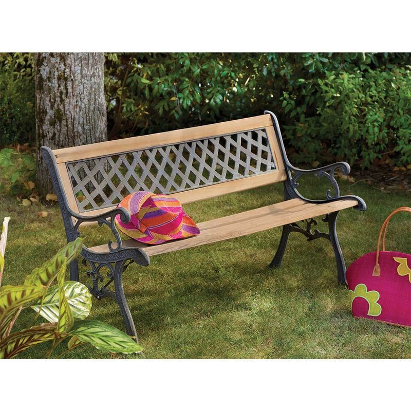 Banc De Jardin Outdoor Decor Outdoor Furniture Decor