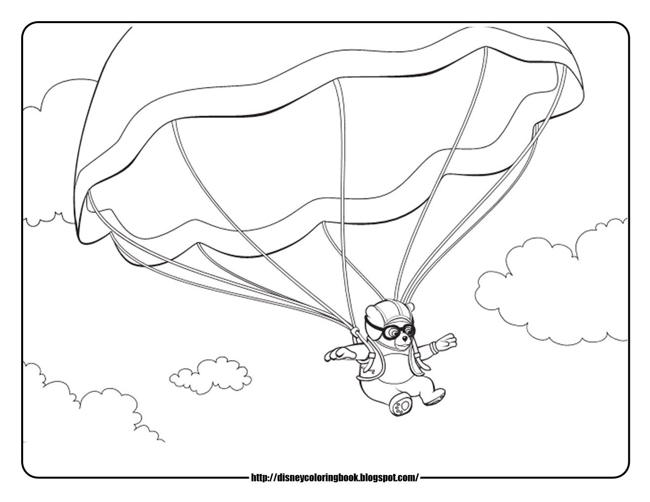 Disney Coloring Pages and Sheets for Kids: Special Agent Oso ...