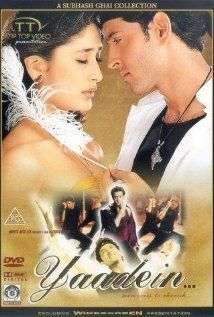 Yaadein Starring Jackie Shroff Hrithik Roshan Kareena Kapoor Story About A Single Father With Three Grown Daughters Each One Has A Very Different O Coing