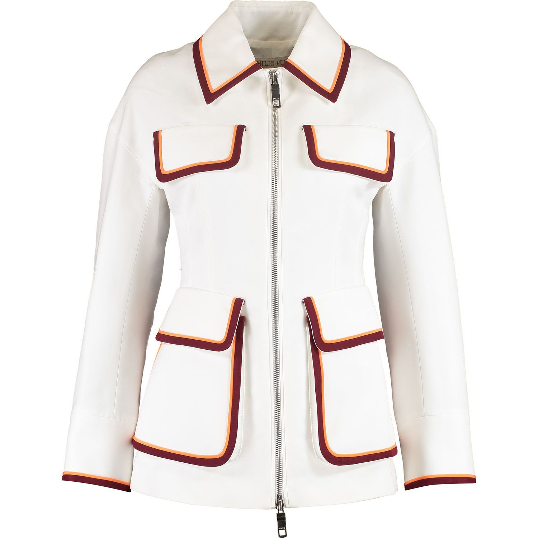 526bbf00fc78 White Retro Trim Blazer - Gold Label Clothing - Women's Gold Label - Edits  - TK