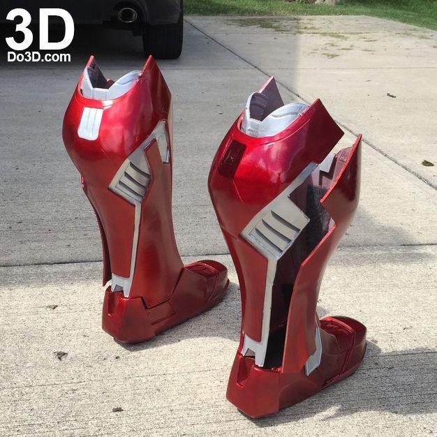 3D Printable Suit: Iron Man Mark XLVI / XLVII Armor (Model