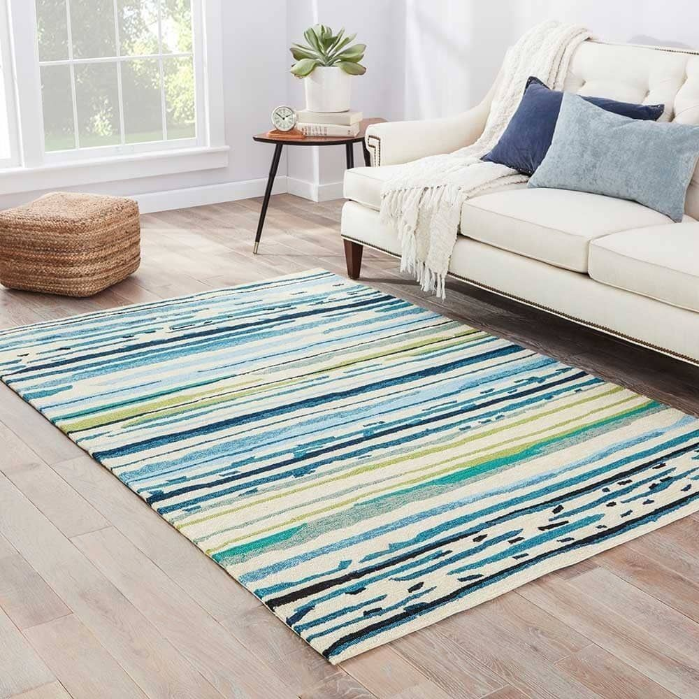 Burnie Persian Inspired Blue Green Area Rug Green Area Rugs