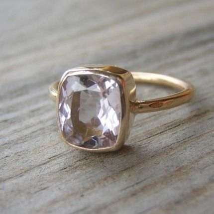 i have a Morganite cocktail ring from my grandmother that's set way too high off my finger - this might be a better setting for it...