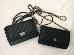d134cec16d66 Boy vs Classic WOC | Looks | Chanel wallet, Chanel woc, Chanel woc boy