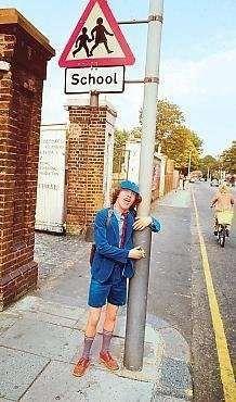 Angus Young - UK, 1976