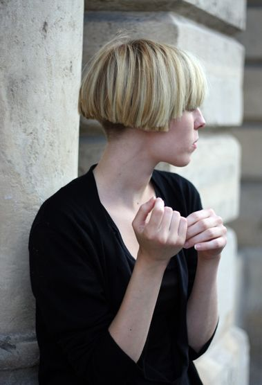 Blunt Very Blunt Short Bob With Clippered Nape Great