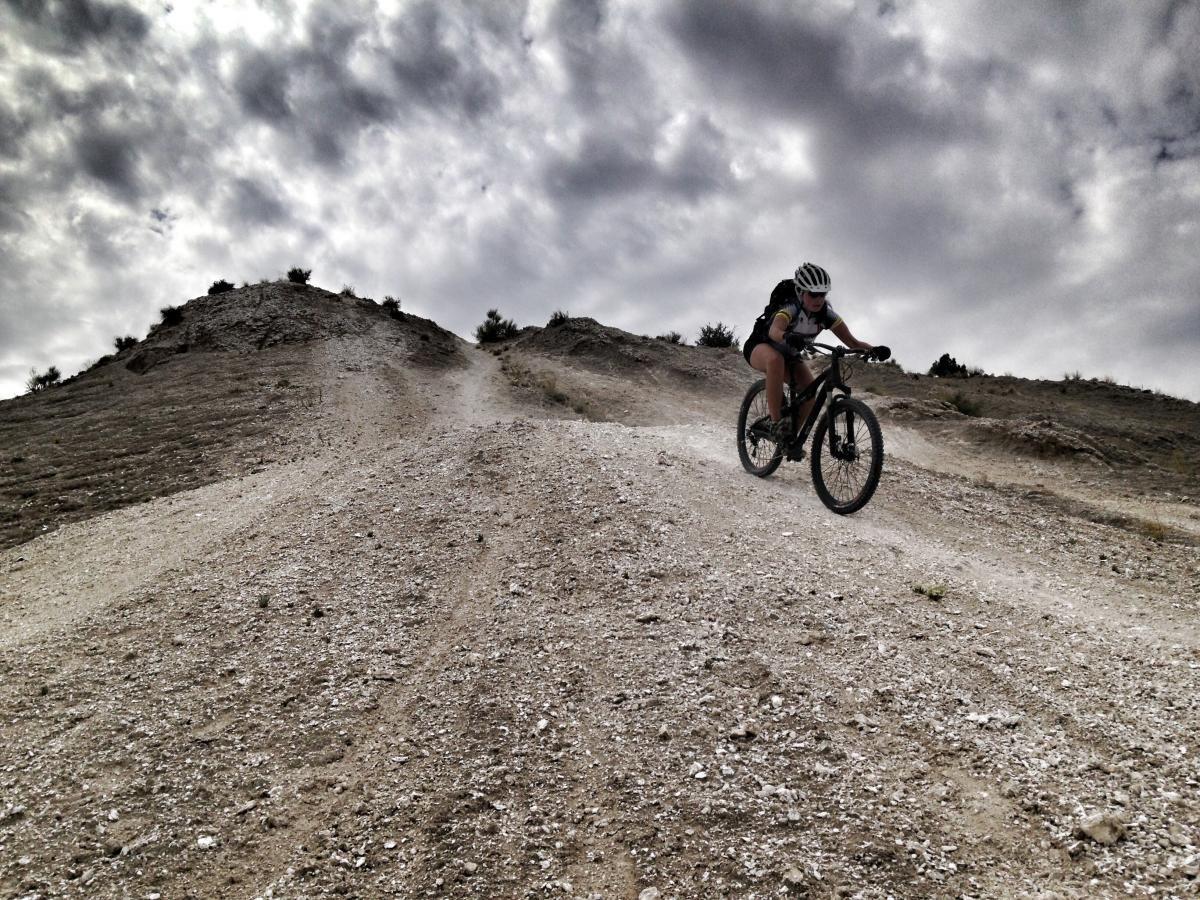 white mesa bike trails mountain bike trail in albuquerque new