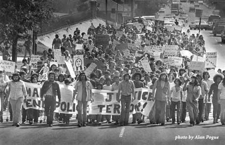A March Protesting The Vietnam War 1971 Photo Credit
