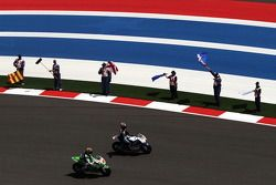 Hector Barbera, Avintia Blusens FTR e Bryan Staring, Go & Fun Honda Gresini