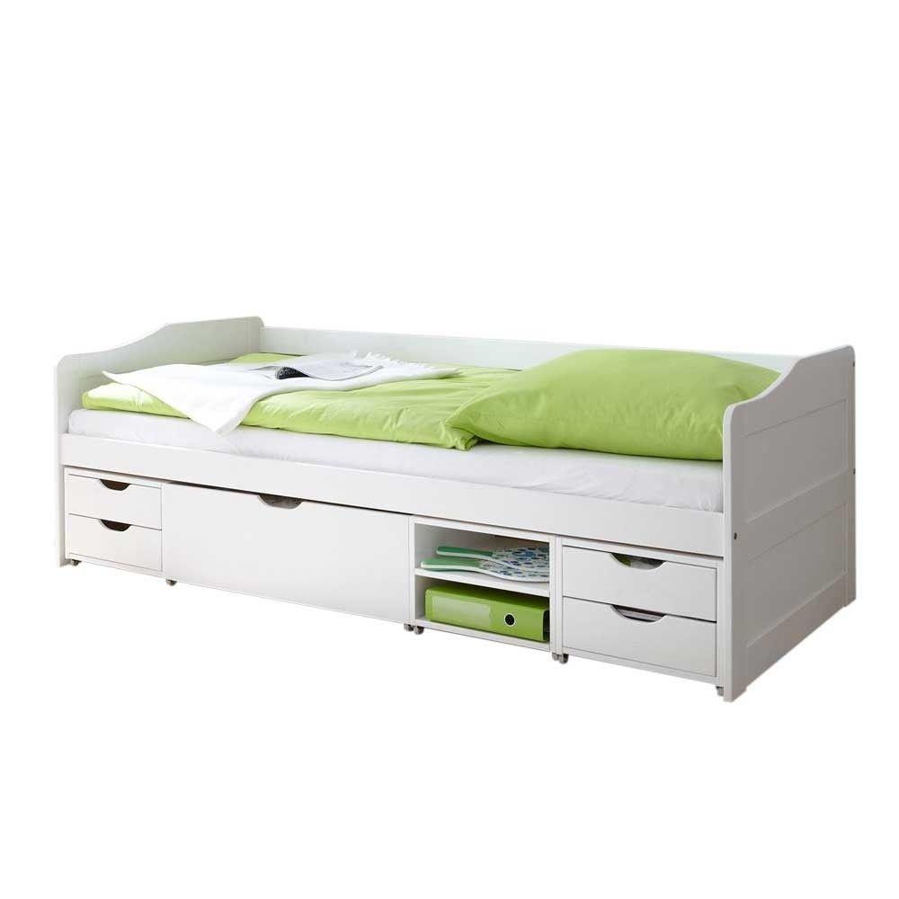 Billig Bett Mit Stauraum 100x200 Deutsche Bed