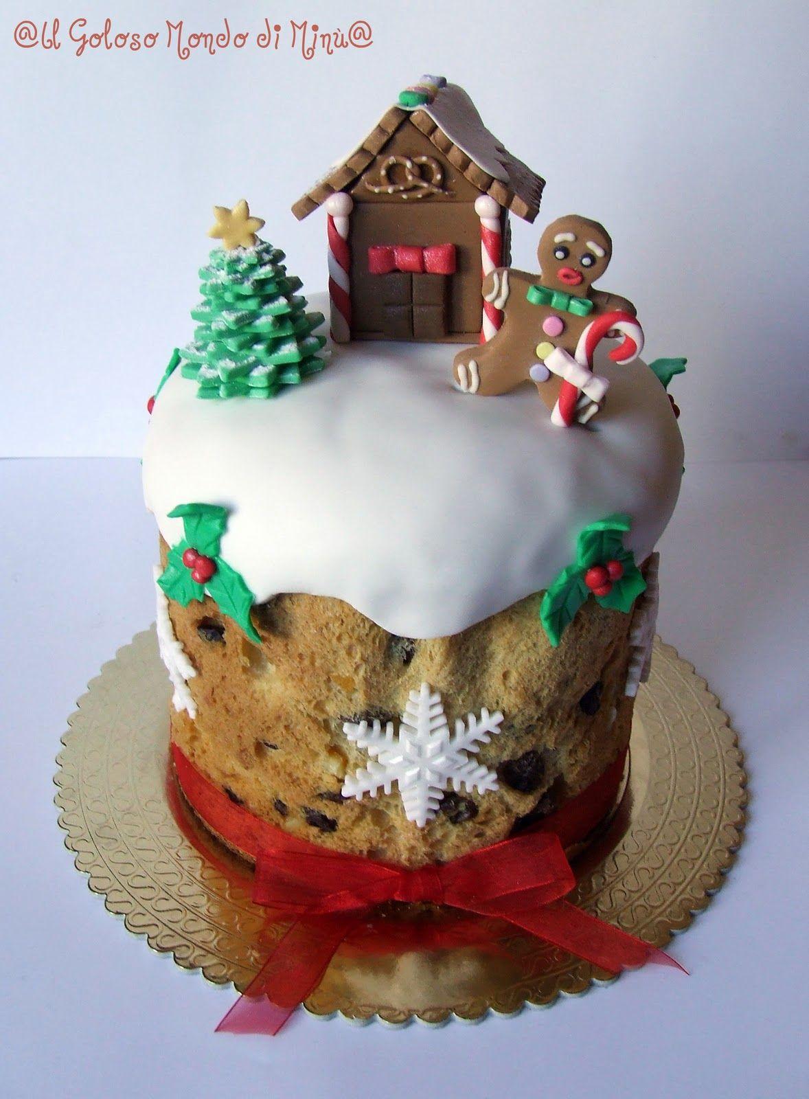Torte Decorate Per Natale panettone e pandoro decorati per un natale dolcissimo