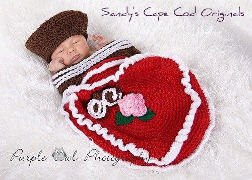 Valentine Box of Chocolates Crochet Pattern Cocoon and Beanie PDF ...