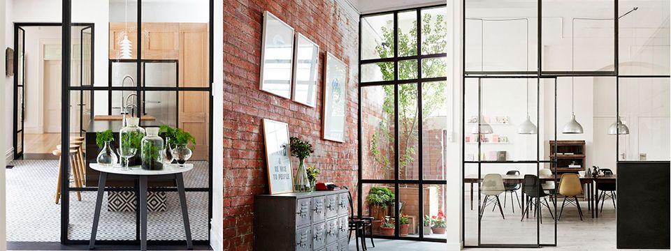 Tendencias grandes ventanas con cuadr cula de hierro for Ventanales grandes de segunda mano